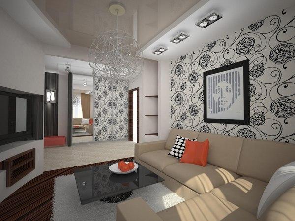 Несколько дизайн проектов квартир в