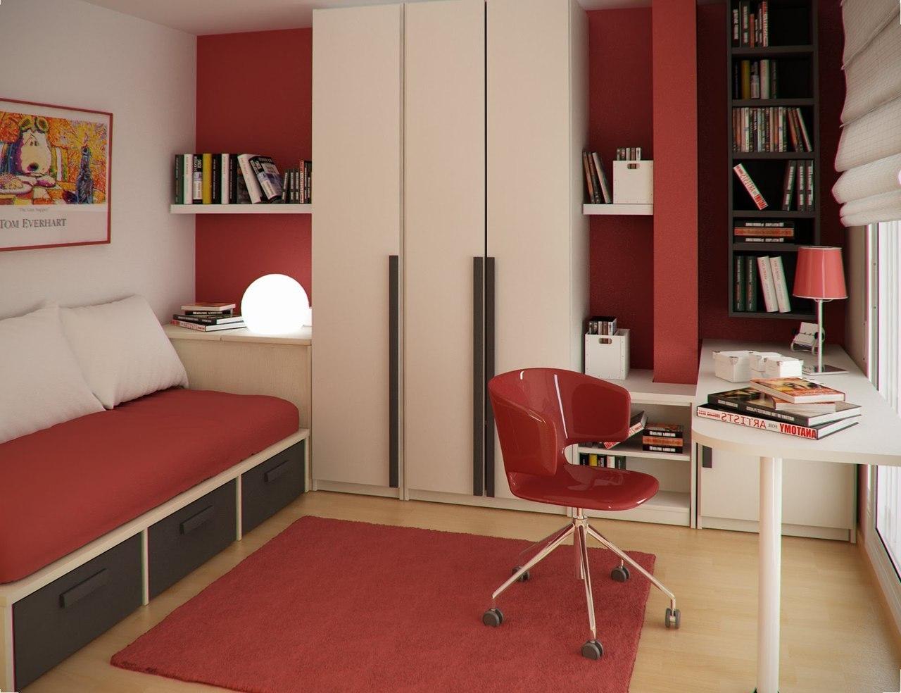 Дизайн интерьера маленьких помещений