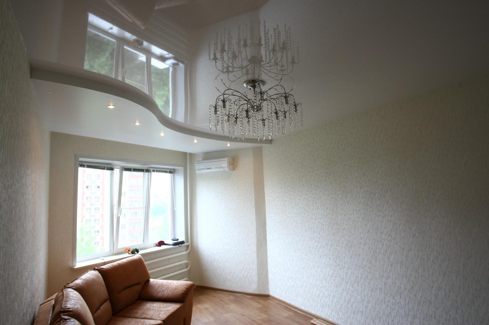 Подвесные потолки в интерьере