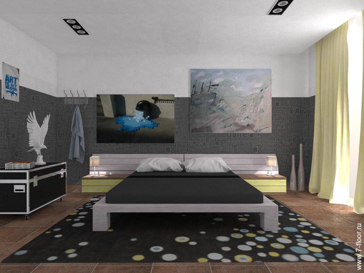 Дизайн-интерьера-спальни-студия-7-этаж-12