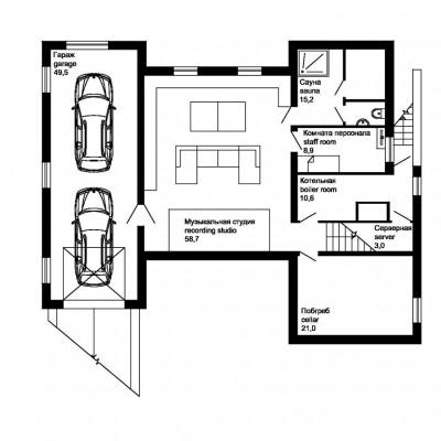 План-цокольного-этажа