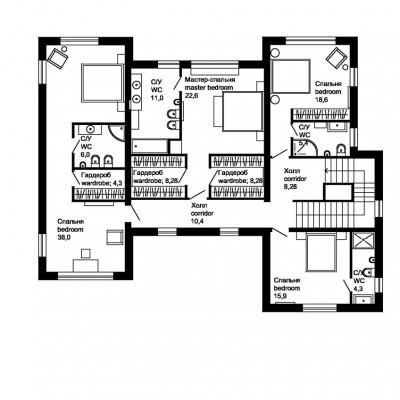 План-второго-этажа