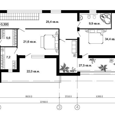 Проект-загородного-дома-в-Мытищах-3-этаж