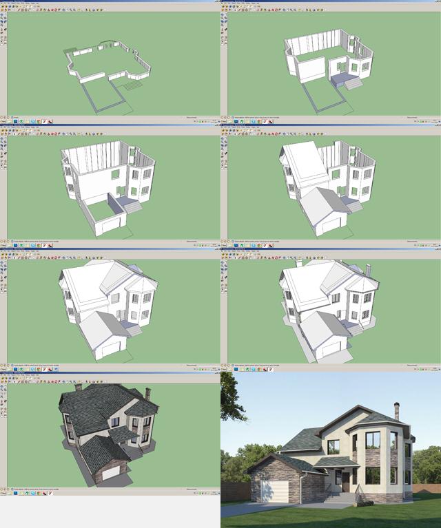 Проектирование в SketchUP