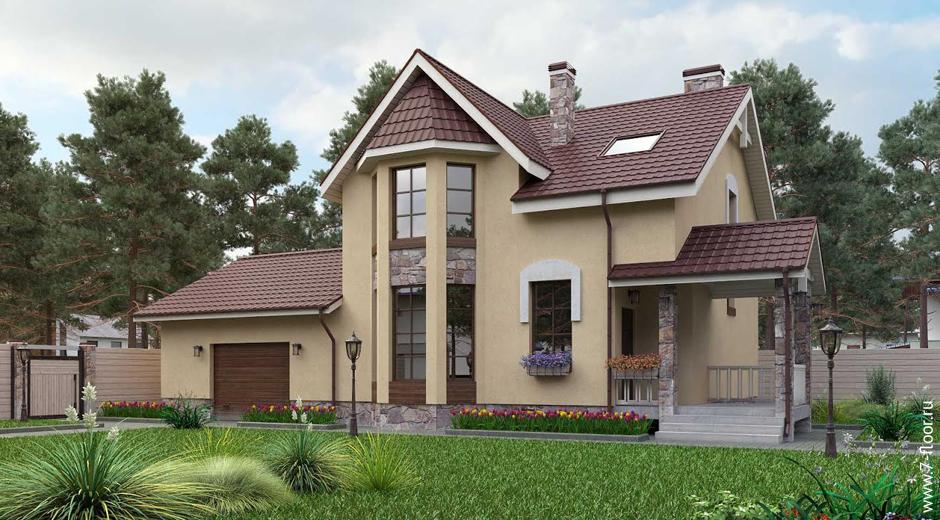 Загородный дом в баварском стиле в Подрезково